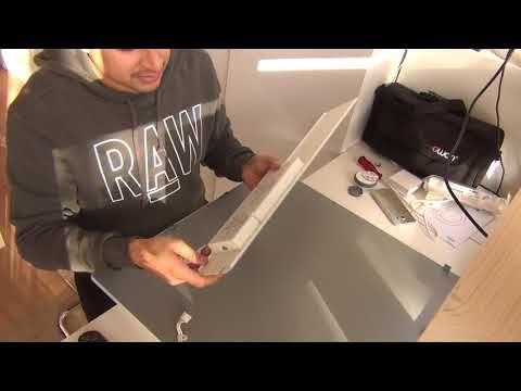 Ikea Smart Led Floalt 60x60cm Square Led Panel Part 1 Youtube Led Panel Ikea Led