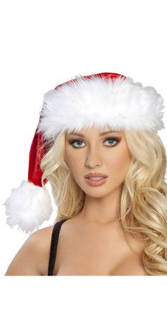 Sexy Santa Holiday Faux Fur Hat