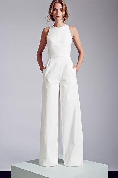 35 Gorgeous Pantsuits and Jumpsuits for Brides | Wedding, For the ...