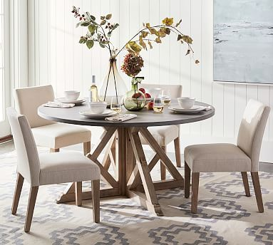 Brooks Round Dining Table Round Dining Table Dining Room Table