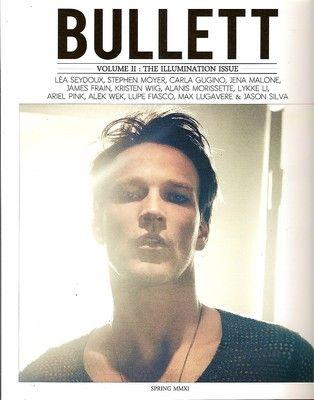 Bullett, Stephen Moyer (True Blood) ,Lea Seydoux, Kristen Wiig, Jena Malone, #02, Spring 2011~NEW