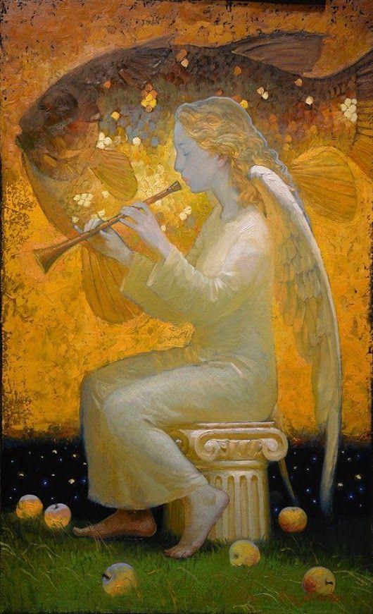 angel by Victor Nizovtsev (Russia 1965)