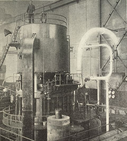 The Ge 15 Mw Vertical Four Stage Curtis Type Turbo Generator Shown Here Was Put Into Service At The Manchester St Power Stati Power Station Power Ghost Chair