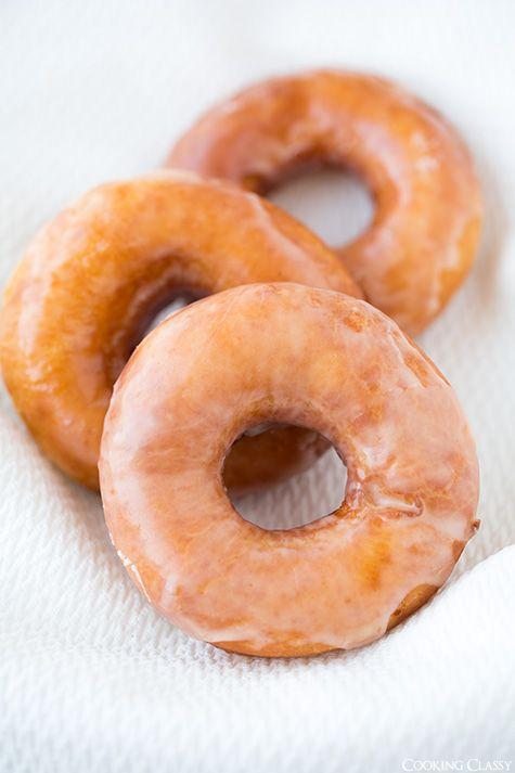 Copycat Krispy Kreme Doughnuts: