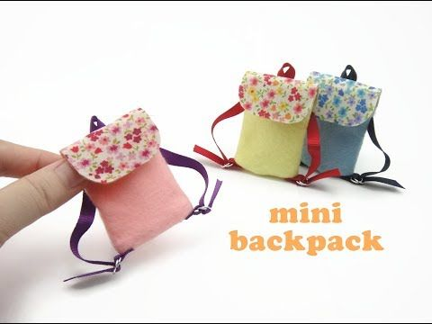 Brand New Mini Schoolbag Backpack Rucksack Accessory For Barbie Doll Clothing
