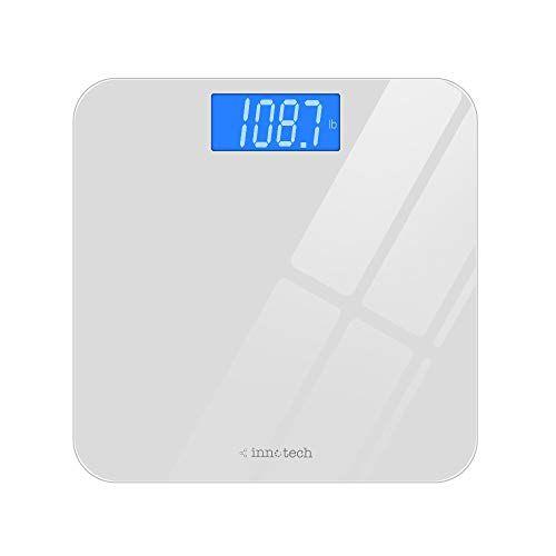 Innotech Digital Bathroom Scale With Easy To Read Backli Https