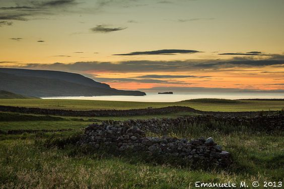 Sunset in the Highlands by Emanuele M.