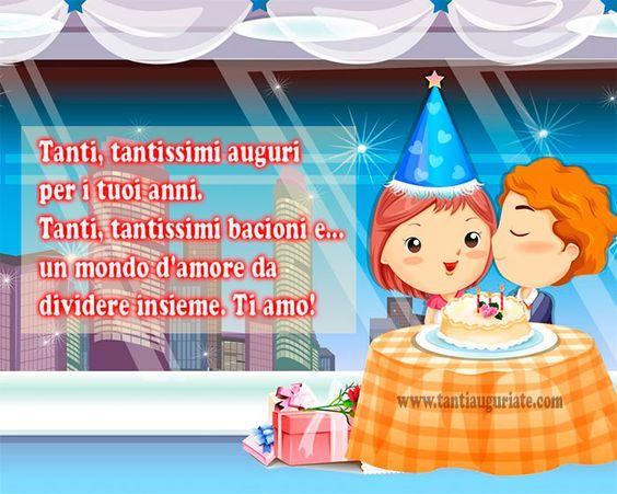 Tanti, tantissimi auguri per i tuoi anni. Ti Amo! #compleanno #buon_compleanno #tanti_auguri: