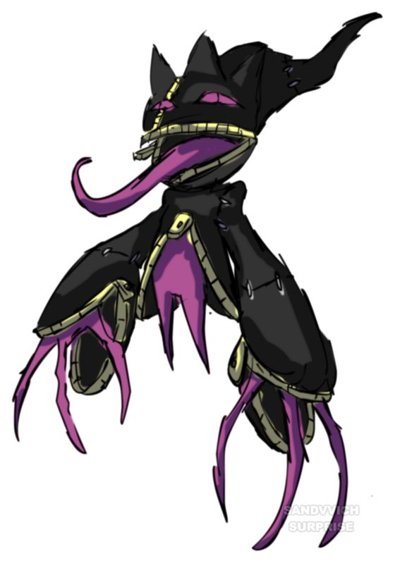 Creepy mega banette ghost type pokemon pinterest - Mega branette ...