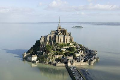 France, Mont-Saint-Michel and its Bay