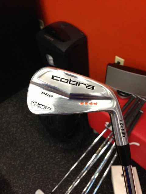Brand New from Ricky Fowler: New Cobra AMP Cell Pro Irons (Picture)
