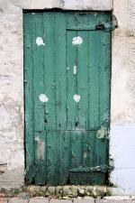 Old green #door