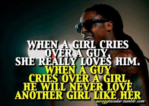 Girl Guy Love Quote Quotes: A Girl, Lil Wayne And Guys On Pinterest