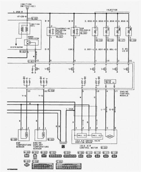 2001 Mitsubishi Galant Wiring Diagram Di 2020 Dengan Gambar