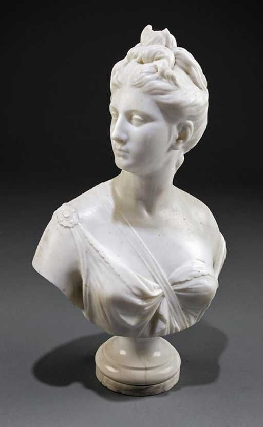 Placeholder Marble Bust Marble Sculpture Sculpture