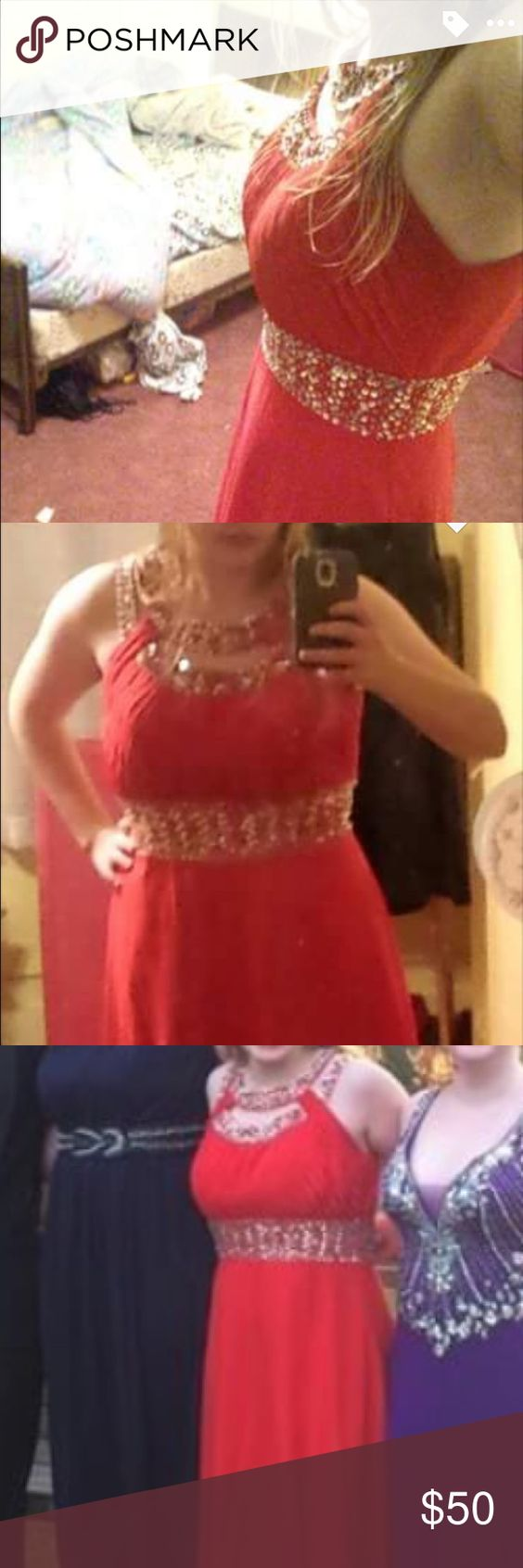Red prom dress Great condition, worn twice. Dresses Prom
