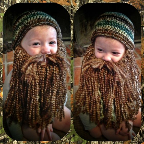 Duck Dynasty Crochet Hat & Beard PATTERN PDF  by meandmorningglory, $5.00: