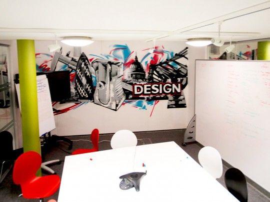 creative Graffiti in Interior Design