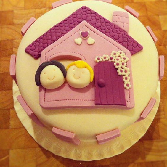 Cake Decorating Ideas For Housewarming : Housewarming cake cakes Pinterest Colors, The o jays ...