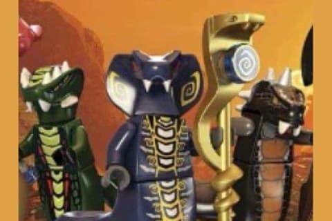 Ninjago What Serpentine Tribe Are You Ninjago Serpentine Custom Lego