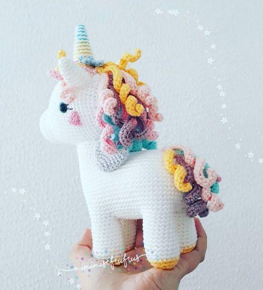 Unicorns, Dragons and More Fantasy Amigurumi | Amigurumi | 585x530