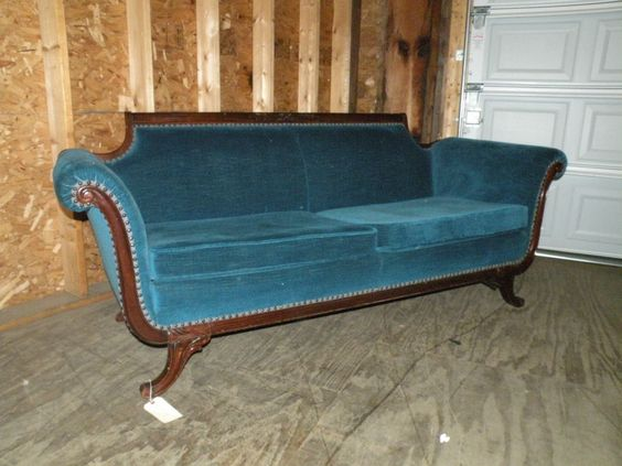 Antiques Old Sofa And Style On Pinterest
