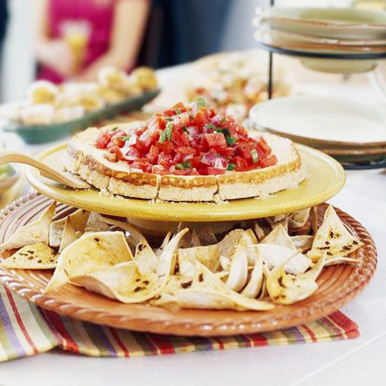 via @Better Homes and Gardens Maximize table space by using tiered appetizer platters. More entertaining ideas: http://www.bhg.com/party/birthday/themes/how-to-organize-outdoor-party-food-and-drinks/?socsrc=bhgpin060112#page=1