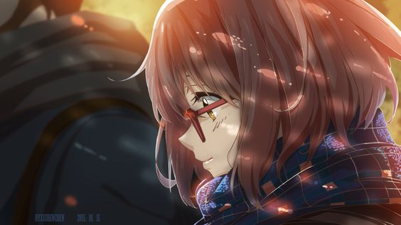Anime Beyond The Boundary  Mirai Kuriyama Wallpaper
