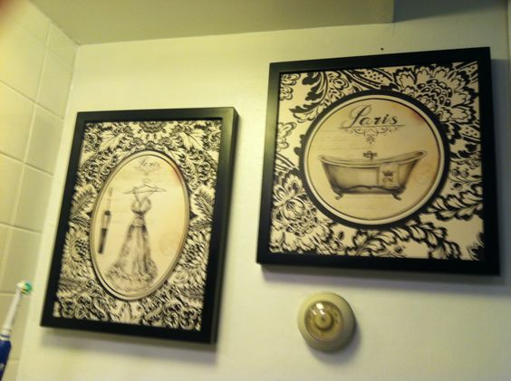 Bathroom wall art from hobby lobby bathroom pinterest for Bathroom decor at hobby lobby