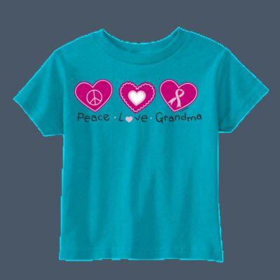 Peace Love Grandma t-shirt by airwaves custom tees