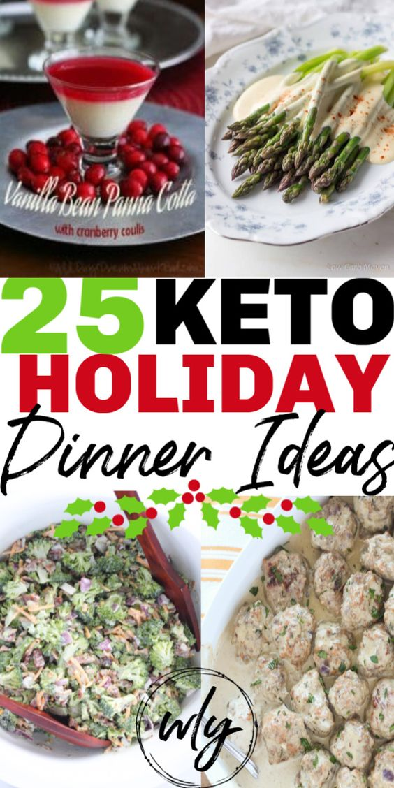 25 Keto Christmas Dinner Recipes