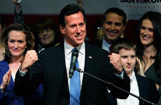 Photo #29 #prezpix #prezpixrs election 2012 candidate: Rick Santorum publication: Los Angeles Times LA Times publication date: 3/6/12