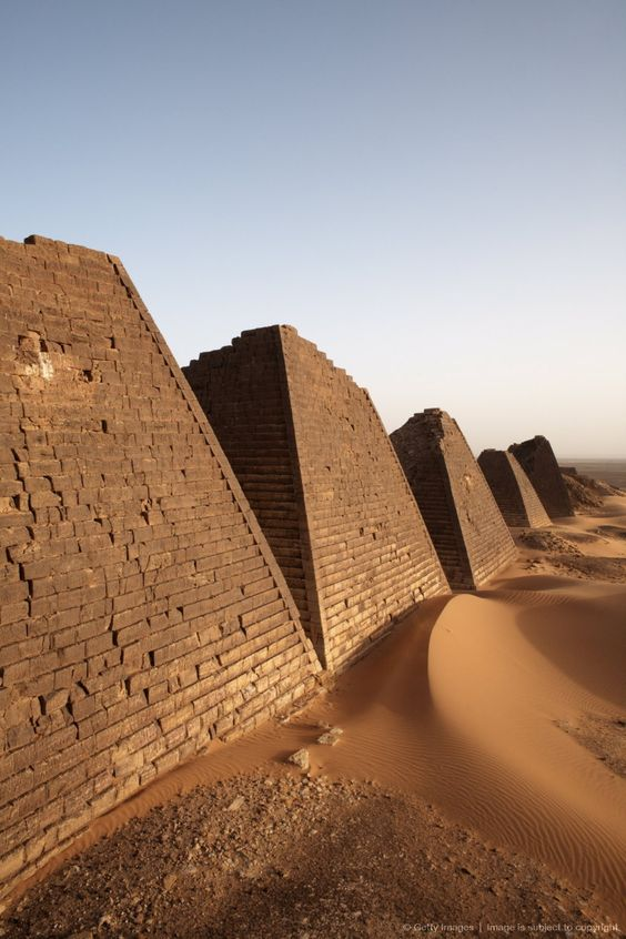 The pyramids of Meroe - Bagrawiyah, Sudan