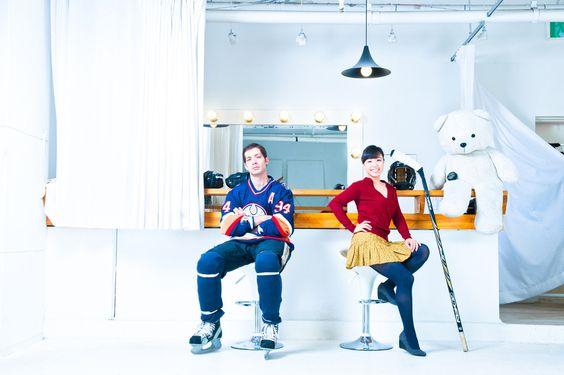 Hockey vs Bride.