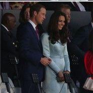 O look da Kate Middleton nas Olimpíadas!