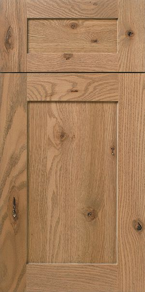 Rustic Red Oak Mortise And Tenon Door Walzcraft