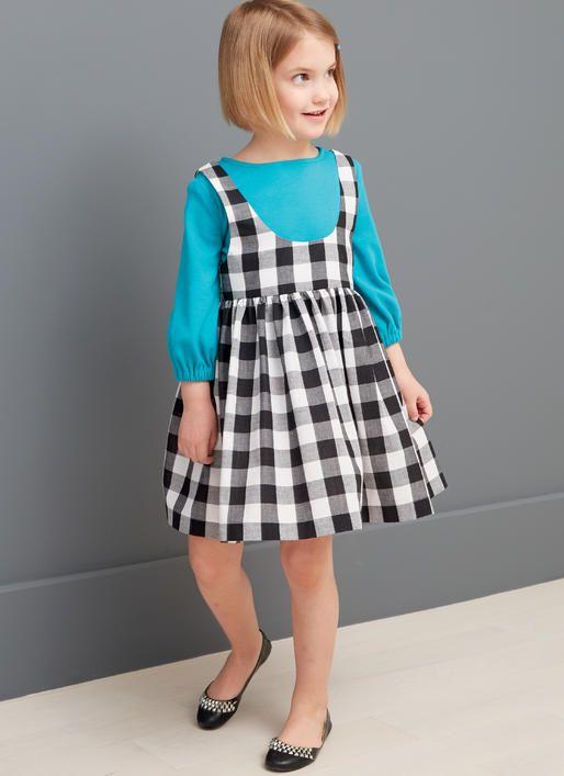 Little Girl wearing dress
