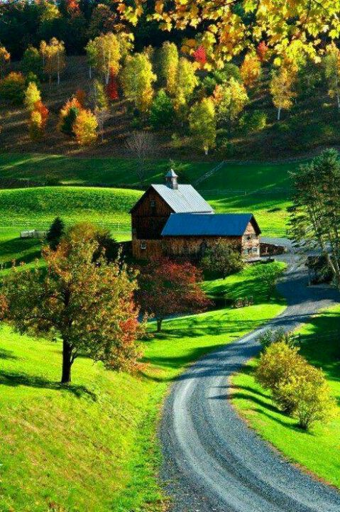 Vermont countryside ...