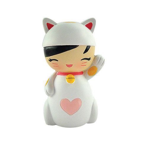 Lucky Kitty Momiji Message Doll. A hidden secret is hidden within! $14.99