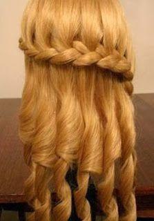 cositasconmesh Peinados de lujo para graduaciones