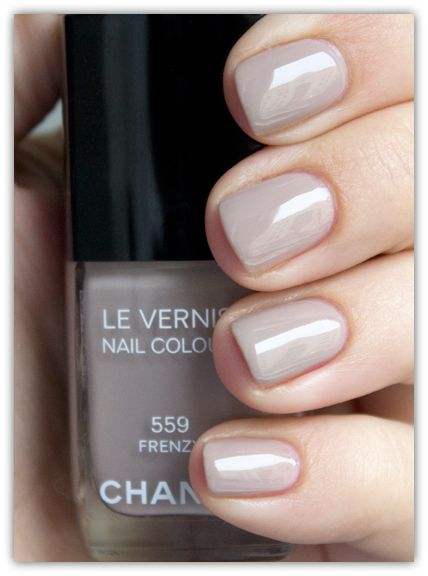 Nails: Chanel 559 Frenzy Swatches... Pretty neutral for Fall.