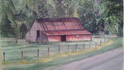 Barn Valle Crusis, NC