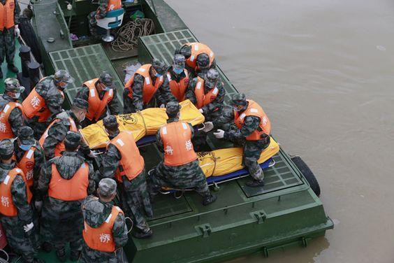 Han Sido Recuperados 75 Cadáveres Del Naufragio Del Barco Estrella Oriental En China