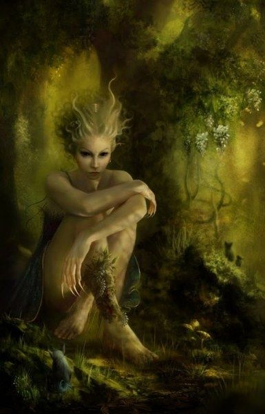 Leshachikha - A forest Goddess, She usually appears as a wild animal ...