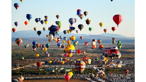 Festival Internacional de Globos Aerostáticos de Albuquerque