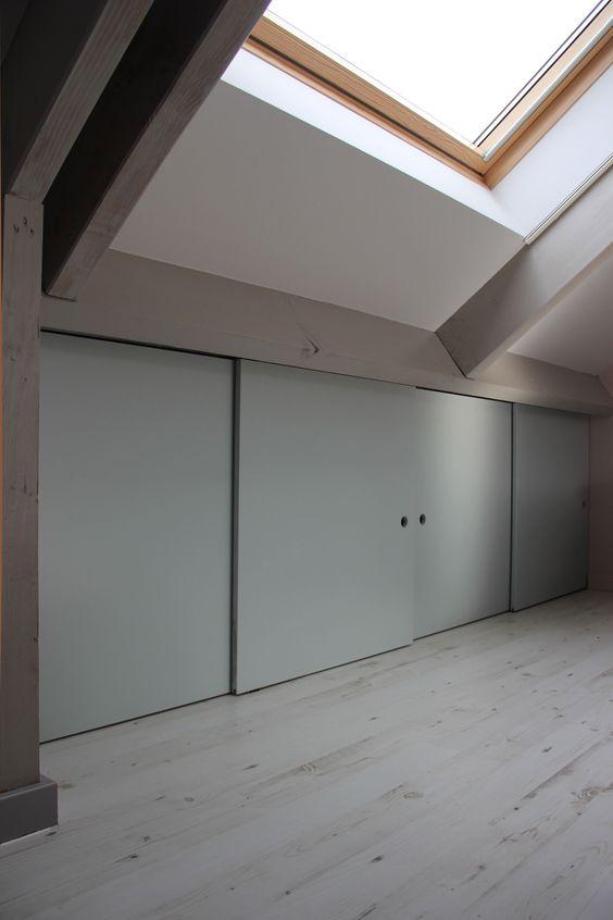 bouwtekening kast onder schuin dak google zoeken zolder