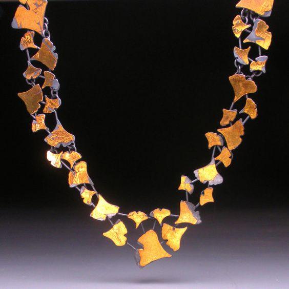 Gold ginko leaves - stunning: