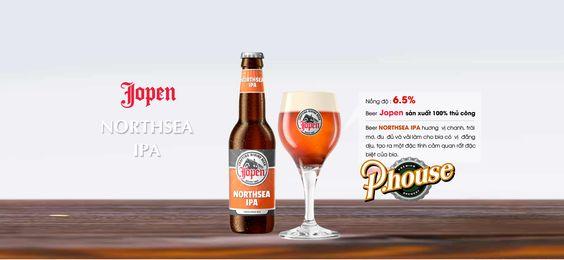 Bia Jopen Northsea IPA 6,5% - Chai 330ml - Bia Nhập Khẩu