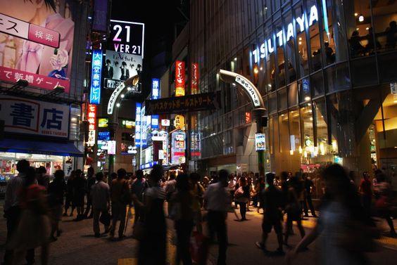 """""""Center-Gai"""" in Shibuya, Tokyo."""