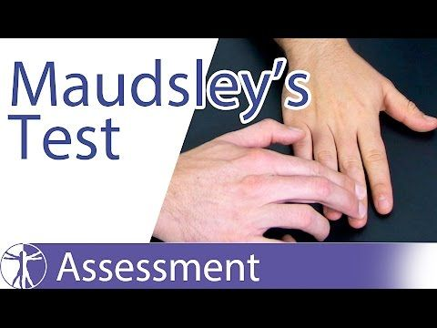Maudsley S Lateral Epicondylitis Test Lateral Epicondylitis Or Tennis Elbow Youtube Tennis Elbow Hand Therapy Test